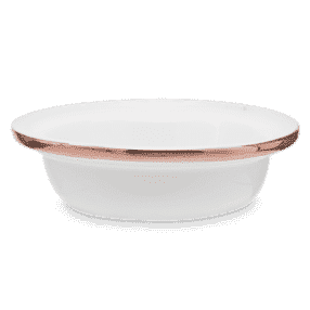 ETCHED CORE ROSE GOLD DISH ONLY