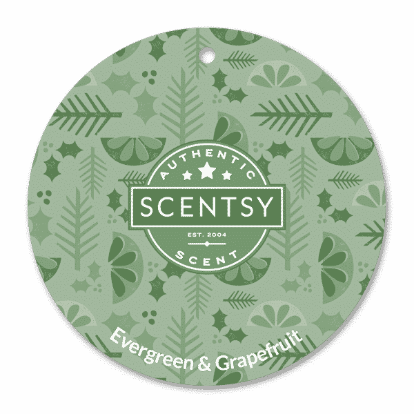 EVERGREEN GRAPEFRUIT SCENT CIRCLE