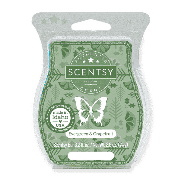 EVERGREEN GRAPEFRUIT SCENTSY BAR