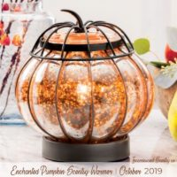 ENCHANTED PUMPKIN SCENTSY WARMER