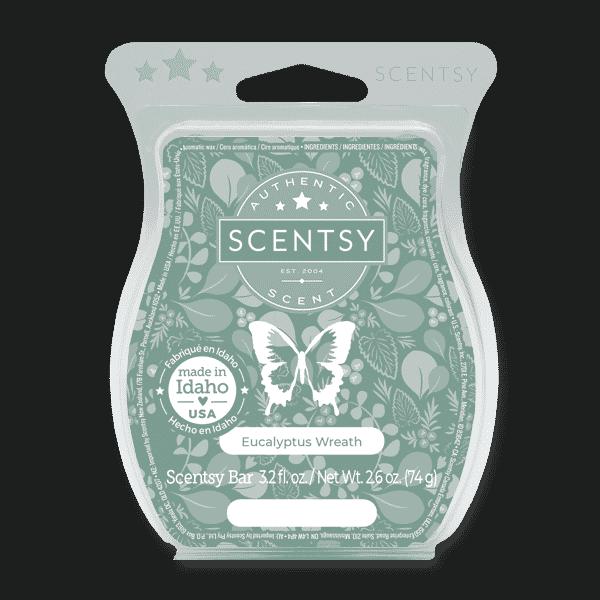 Eucalyptus Wreath Scentsy Bar | New! Eucalyptus Wreath Scentsy Bar | Incandescent.Scentsy.us