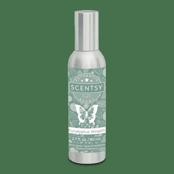 Eucalyptus Wreath Scentsy Room Spray | NEW! Eucalyptus Wreath Scentsy Room Spray | Incandescent.Scentsy.us