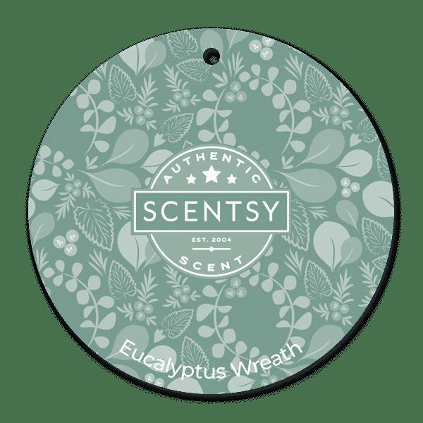 Eucalyptus Wreath Scentsy Scent Circle | NEW! Eucalyptus Wreath Scentsy Scent Circle | Incandescent.Scentsy.us