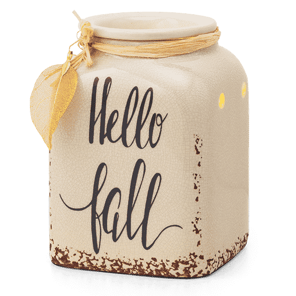 FALL IS CALLING HELLO FALL SCENTSY WARMER