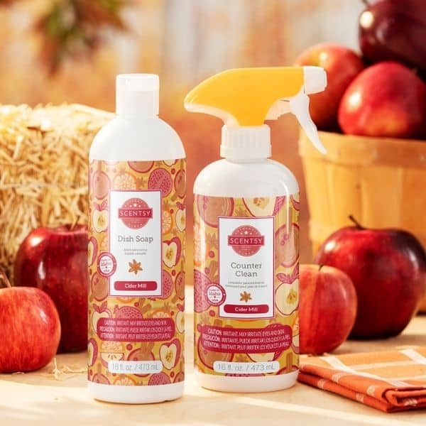 FALL SCENTSY CIDER MILL CLEAN BUNDLE