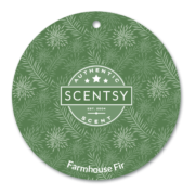 FARMHOUSE FIR SCENTSY SCENT CIRCLE