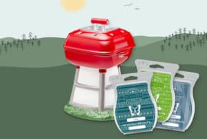 FATHERS DAY SCENTSY THRILL OF THE GRILL WARMER BUNDLE