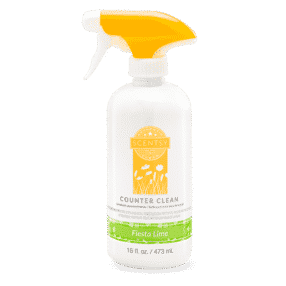 FIESTA LIME SCENTSY COUNTER CLEAN