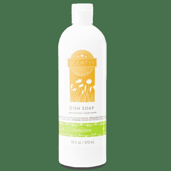 FIESTA LIME SCENTSY DISH SOAP 1