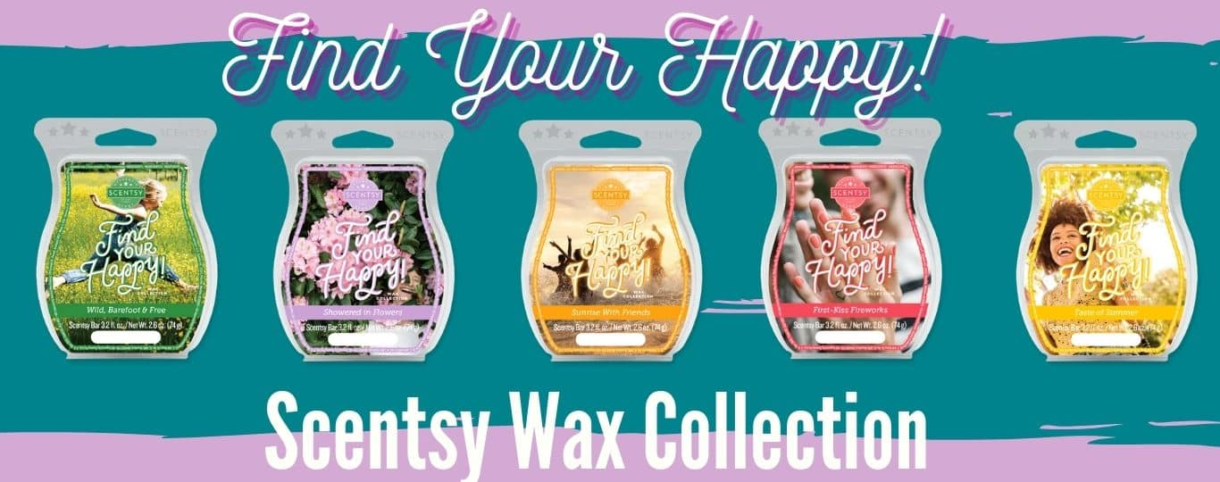 FIND YOUR HAPPY SCENTSY WAX COLLECTION