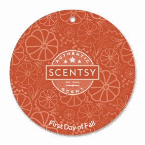 FIRST DAY OF FALL SCENTSY SCENT CIRCLE 1