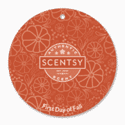 FIRST DAY OF FALL SCENTSY SCENT CIRCLE
