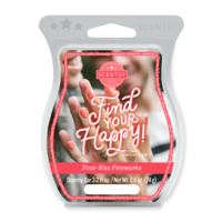 FIRST KISS FIREWORKS SCENTSY BAR