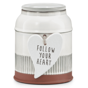FOLLOW YOUR HEART SCENTSY WARMER VALENTINES