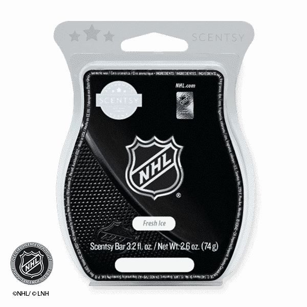 FRESH ICE NHL SCENTSY BAR