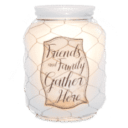 FRIENDS AND FAMILY SCENTSY WARMER