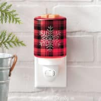 FROSTED FLANNEL SCENTSY WARMER