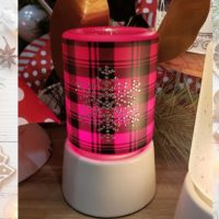 FROSTED FLANNEL MINI SCENTSY WARMER