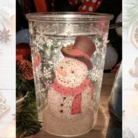 FROSTED SNOWMAN SCENTSY WARMER