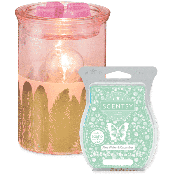 Fabulous Feathers Scentsy Warmer with Wax | NEW! Fabulous Feathers Scentsy Warmer | Shop Scentsy | Incandescent.Scentsy.us