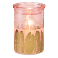 Fabulouse Feather Scentsy Warmer Glow   Fabulous Feathers Scentsy Warmer