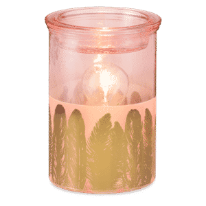 Fabulouse Feather Scentsy Warmer Glow