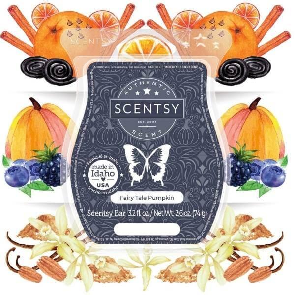 Fairy Tale Pumpkin Scentsy Fragrance