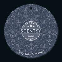 Fairy Tale Pumpkin Scentsy Scent Circle