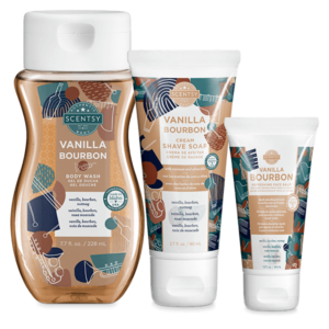 Fathers Day Body Bundle — Vanilla Bourbon | NEW! Scentsy Vanilla Bourbon Body Bundle | Scentsy Father's Day 2021 | Incandescent.Scentsy.us