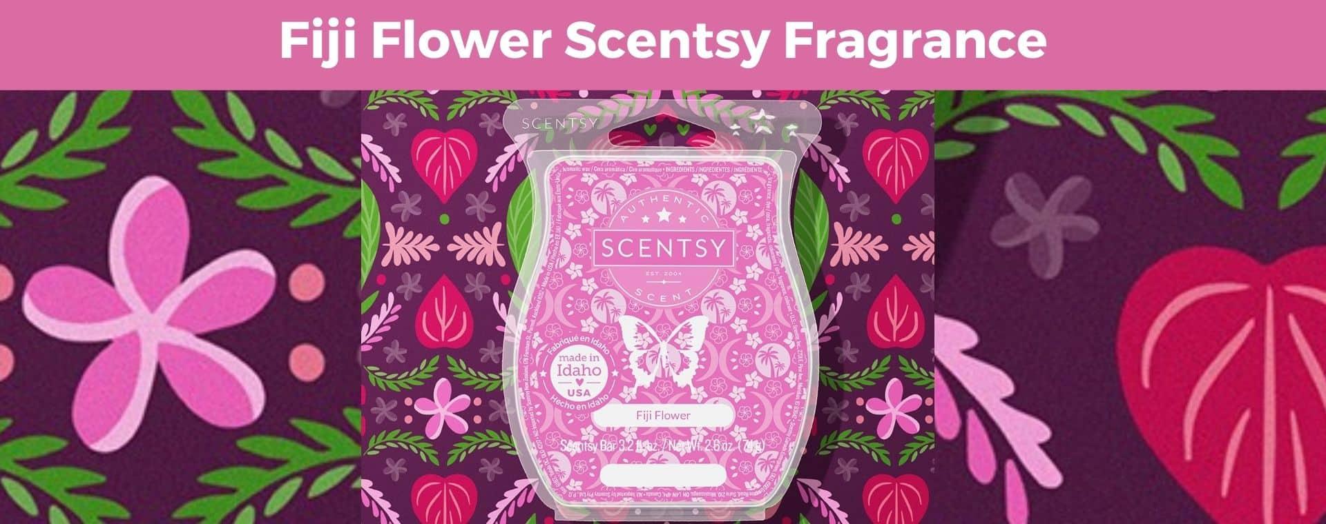 Fiji Flower Scentsy Fragrance