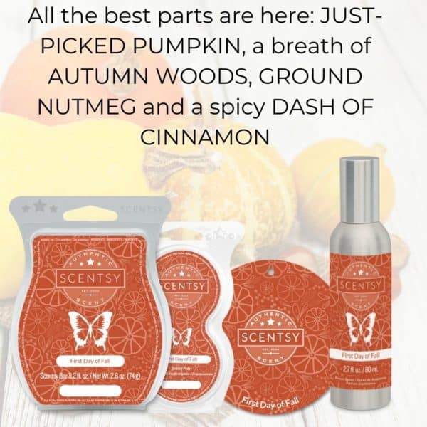 First Day of Fall Scentsy Fragrance 2 | First Day of Fall Scentsy Bar | Incandescent.Scentsy.us