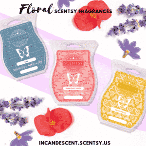 Floral Scentsy Fragrances | SCENTSY COMPLETE SCENT LIST FOR SPRING SUMMER 2019 | SCENTSY LIST OF FRAGRANCES | Scentsy® Online Store | Scentsy Warmers & Scents | Incandescent.Scentsy.us
