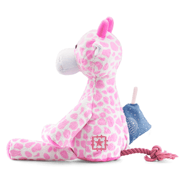 GENNA SIDE VIEW SCENTSY BUDDY   Genna the Giraffe Scentsy Buddy   Incandescent.Scentsy.us