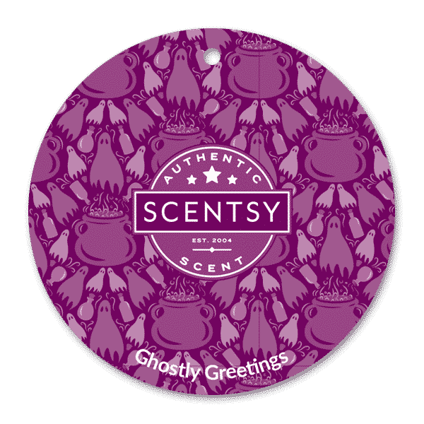 GHOSTLY GREETING SCENTSY SCENT CIRCLE| GHOSTLY GREETINGS SCENTSY SCENT CIRCLE | SEPTEMBER 2020 | Shop Scentsy | Incandescent.Scentsy.us