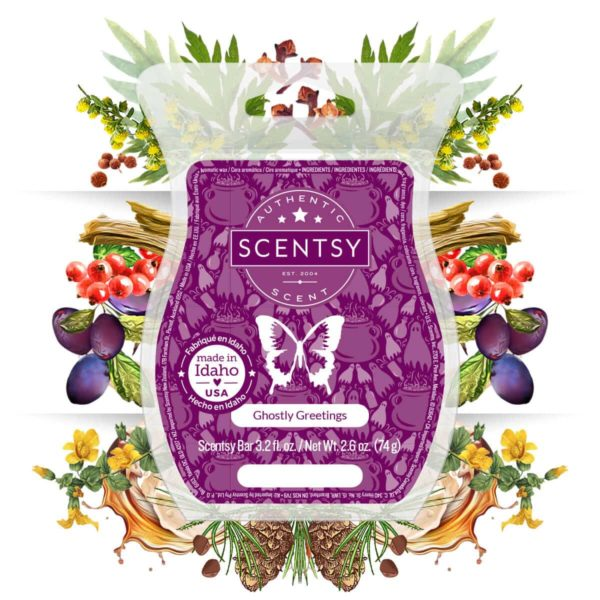 GHOSTLY GREETINGS SCENTSY BAR | GHOSTLY GREETINGS SCENTSY SCENT CIRCLE | SEPTEMBER 2020 | Shop Scentsy | Incandescent.Scentsy.us
