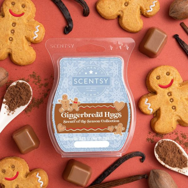 GINGERBREAD HUGS SCENTSY BAR