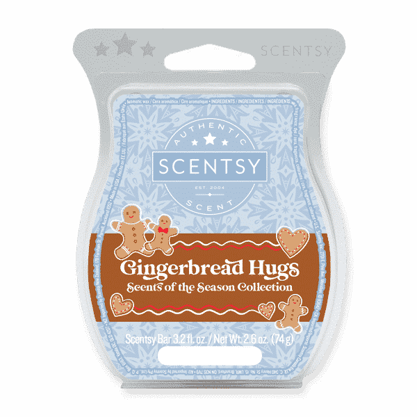 GINGERBREAD HUGS SCENTSY BAR | Gingerbread Hugs Scentsy Bar