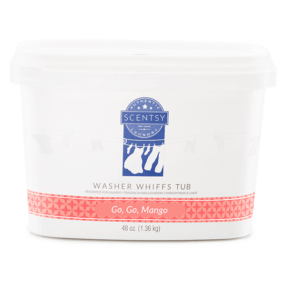 GO GO MANGO SCENTSY WASHER WHIFFS TUB