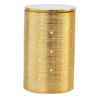 GOLD ETCHED CORE SCENTSY WARMER   Etched Core Gold Scentsy Warmer