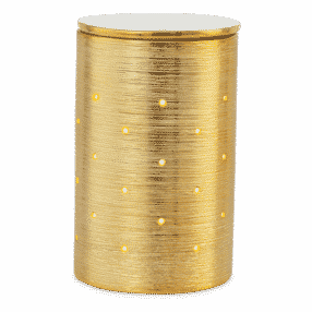GOLD ETCHED CORE SCENTSY WARMER