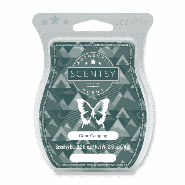 GONE CAMPING SCENTSY BAR