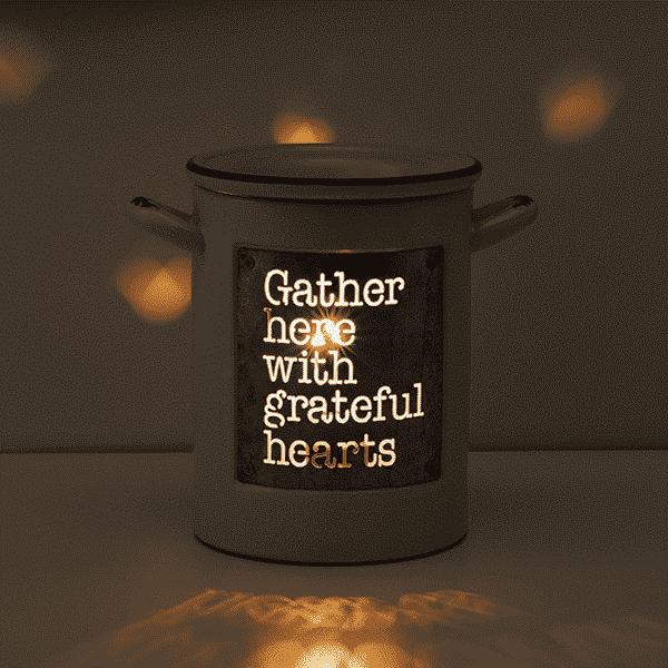 GRATEFUL HEARTS SCENTSY WARMER GLOW