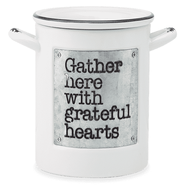 GRATEFUL HEARTS SCENTSY WARMER NO LIGHT