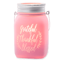 GRATEFUL THANKFUL BLESSED SCENTSY WARMER