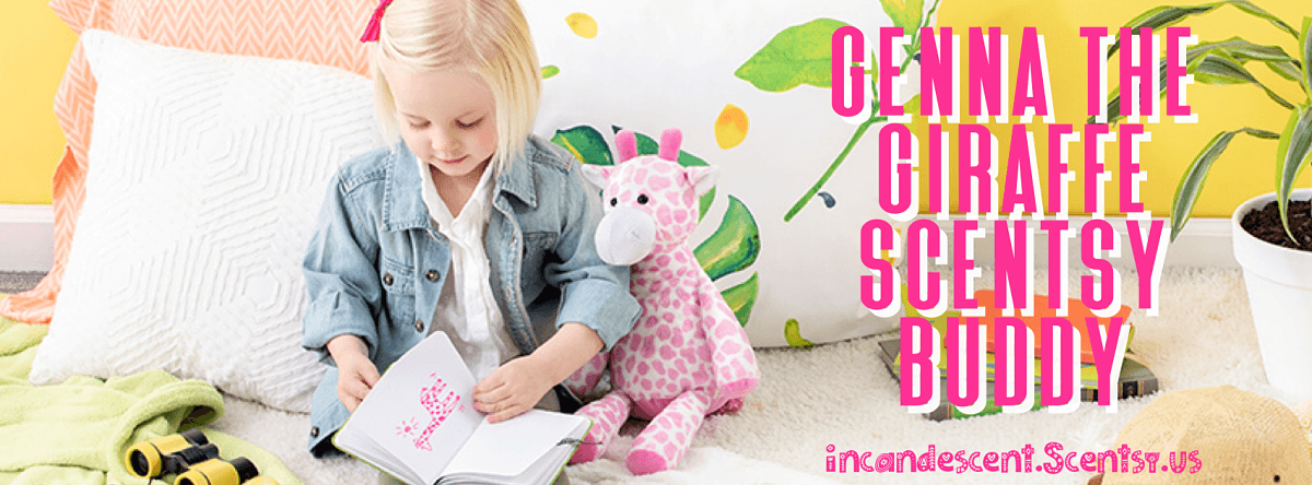 Genna the Giraffe Scentsy Buddy banner