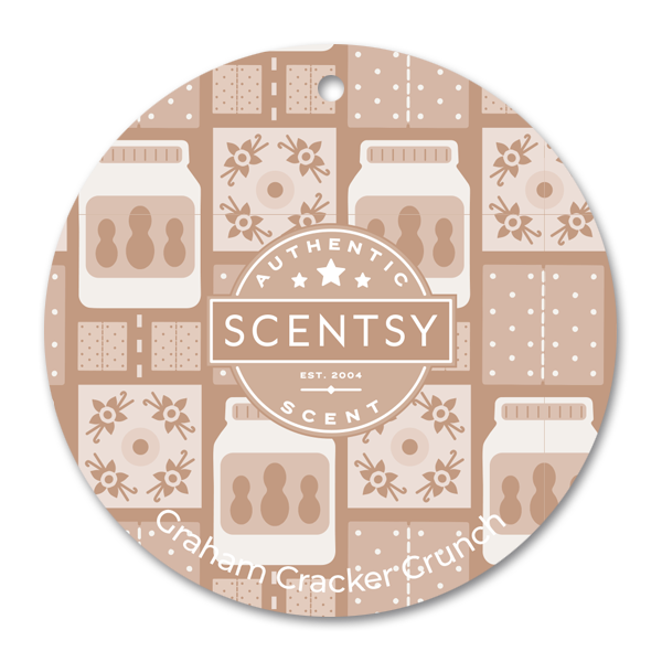 Graham Cracker Crunch Scentsy Scent Circle | NEW! Graham Cracker Crunch Scentsy Scent Circle | Incandescent.Scentsy.us
