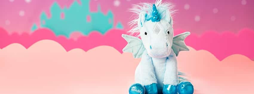 HALLEY THE UNICORN SCENTSY BUDDY BANNER