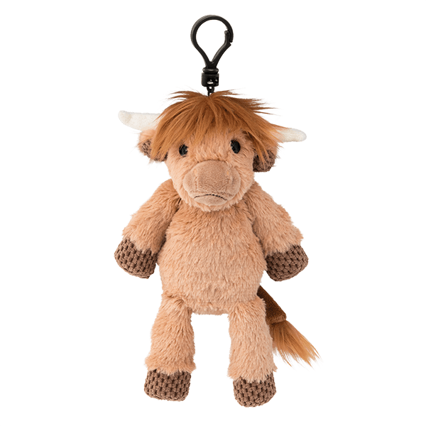 HAMISH THE HIGHLAND COW BUTTERCREAM SCENTSY BUDDY CLIP