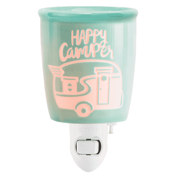 HAPPY CAMPER NIGHTLIGHT MINI SCENTSY WARMER