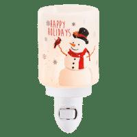 HOLIDAY SNOWMAN SCENTSY MINI WARMER